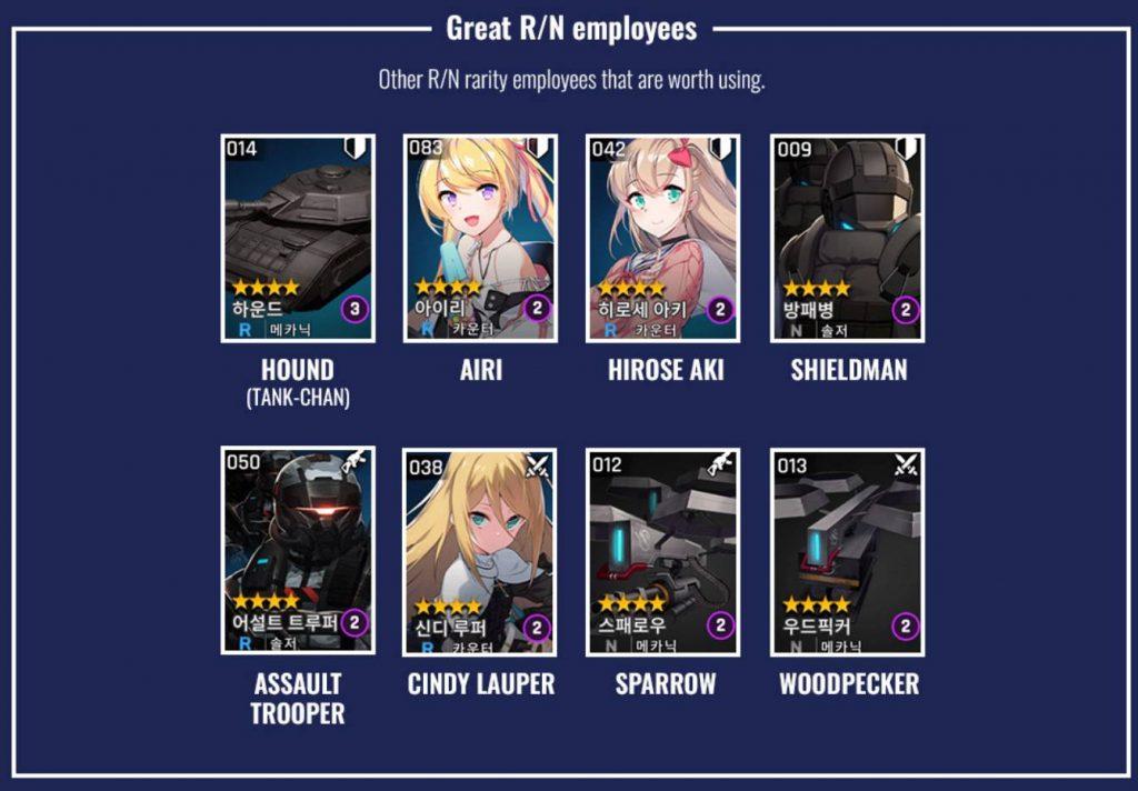 Great R/N Employees